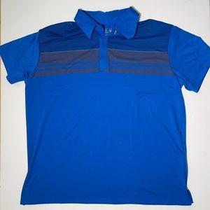 Mountain HardWare, Blue, Pollo Shirt w/ Stripes